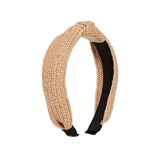 photo of knotted headband