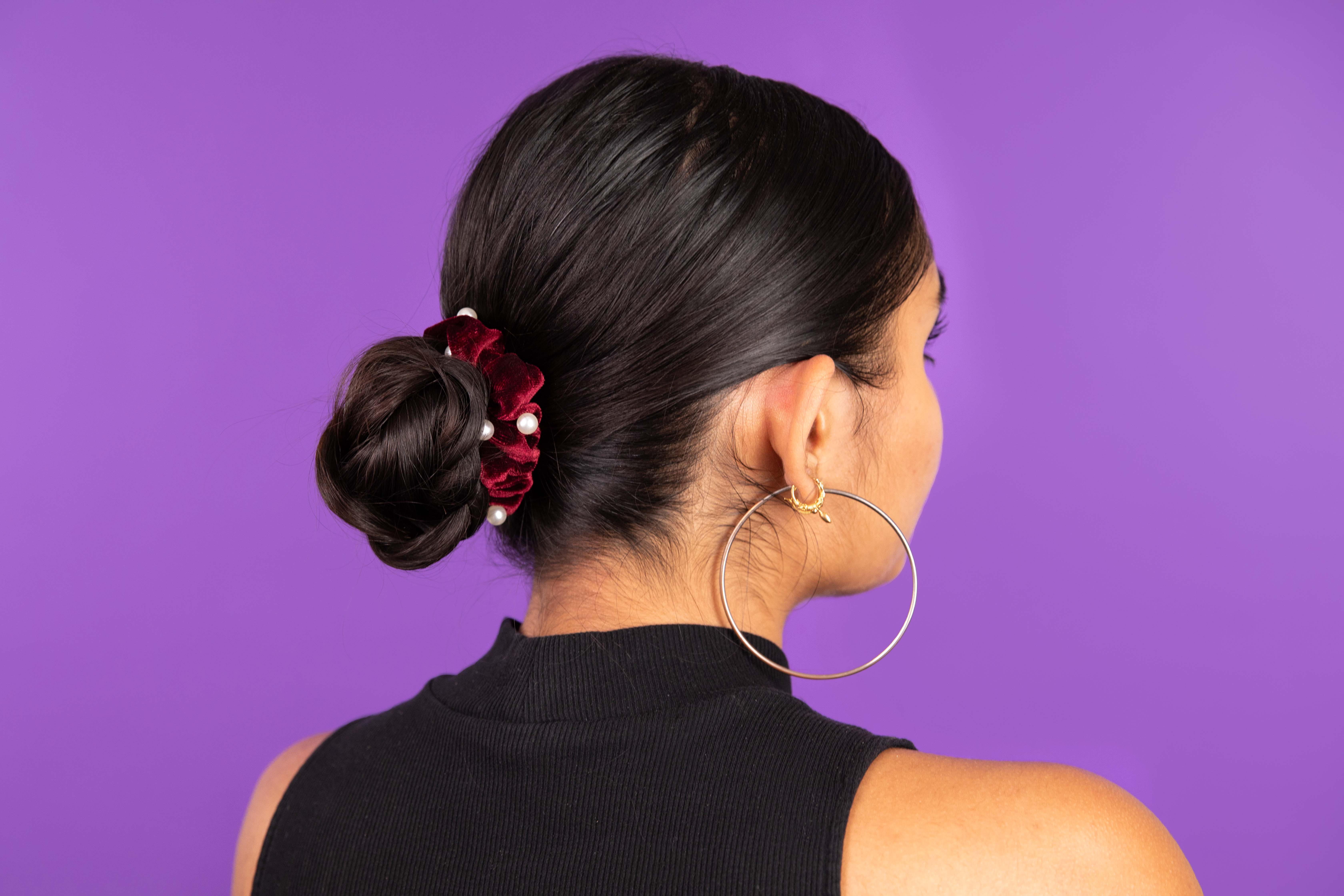 holiday hair accessories scrunchie