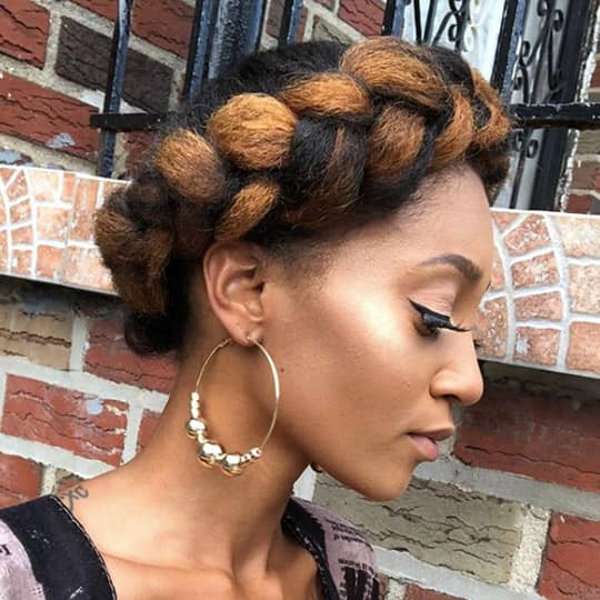 braided crown festival hairstyle