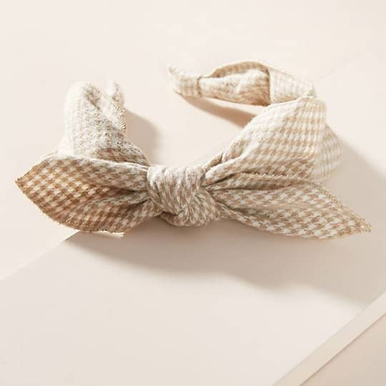 photo of retro knotted headband