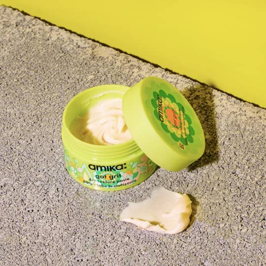 photo of amika dry shampoo paste