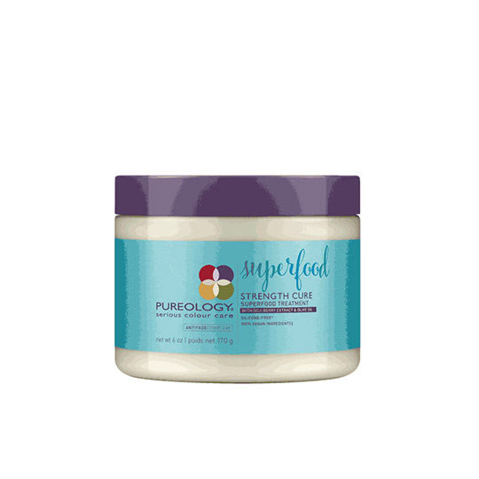 picture of pureology superfood hair mask