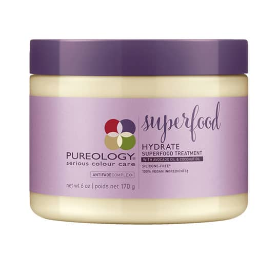 pureology hydrate superfood hair mask