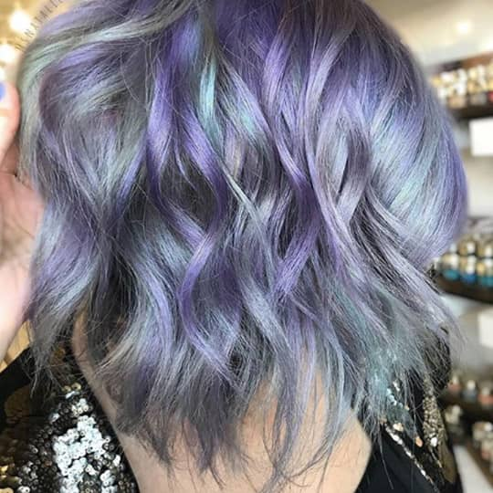 28 Stunning Violet Hair Color Ideas For All Skin Tones Hair Com By L Oreal