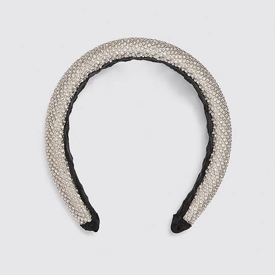 photo of sparkly padded headband