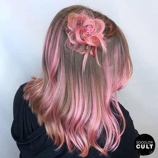 Rosette hair accent
