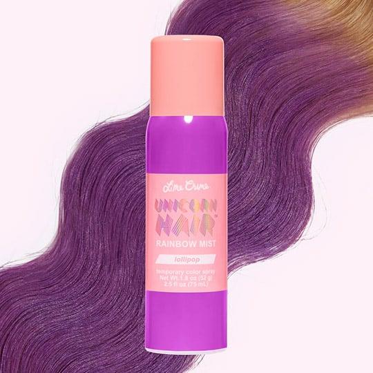 photo of lime crime unicorn temporary hair dye