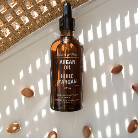 fragrance-free hair products argan oil